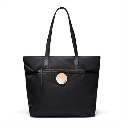 MIMCO Waver Tote Shopper Bag black with removable wristlet new Authentic new