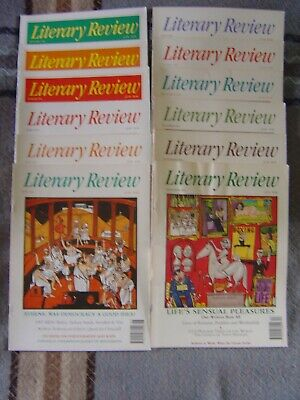 Literary Review 1994: Jan-to-Dec (12 issues)