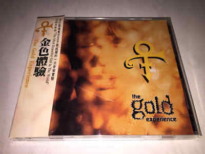 Prince 1995 The Gold Experience UFO Group Warner Music Taiwan OBI 12TRK CD Album
