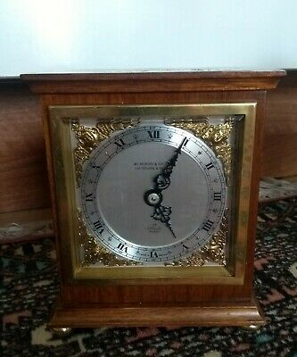 A Nice Vintage Elliot Clock Retailed By Wm Bruford & Son Ltd, Eastbourne
