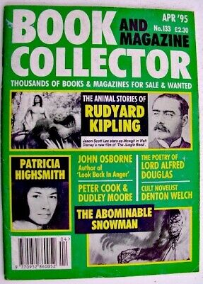 BOOK & MAGAZINE COLLECTOR April 1995 No 133 Rudyard Kipling, Patricia Highsmith