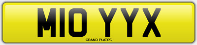 Moys Moye Moy Number Plate Moyes M10 Yyx Car Registration No Added Fees To Pay