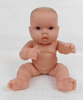 "Berenguer Lots To Love Babies It's Just Baby Fat 14"" Soft Vinyl Baby Doll Nude"