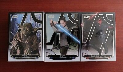 Star Wars Galactic Files 2018 Trading Cards