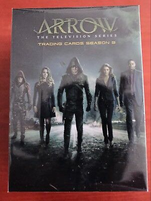 MARVEL THE ARROW SEASON 3 Cryptozoic TRADING CARDS BASE SET OF CARDS