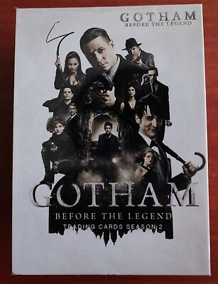 GOTHAM BEFORE THE LEGEND SEASON 2 Cryptozoic TRADING CARDS BASE SET
