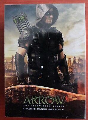 MARVEL THE ARROW SEASON 4 Cryptozoic TRADING CARDS BASE SET OF CARDS