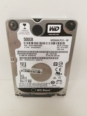 "WD 500GB Internal 2.5"" WD5000LPLX Laptop Hard Drive"