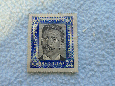 Ref 082  Republic Liberia 5 stamp
