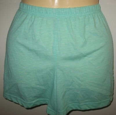 Secret Treasures - New -  M 8-10 - Teal - Knit -  Short Pajama /  Lounge Shorts