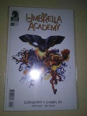 THE UMBRELLA ACADEMY Hotel Oblivion 5 NM Gerard Way Ba Cover A 1st Print