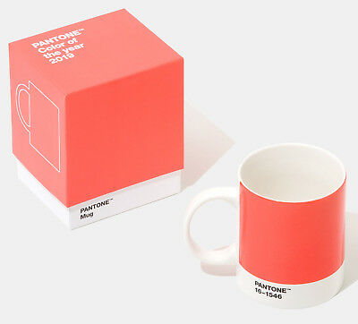 Pantone Mug - Colour of the Year 2019, Living Coral 16-1546 - In a Gift Box