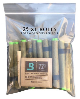 25 x King Palm Leaf Blunt Wraps (XL Size) (1 Pack - 25 Rolls) Authorized Seller