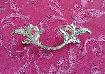 """Belwith Brass French Provincial Drawer Pull 3"""" Bore Model N04358 Gold White"""