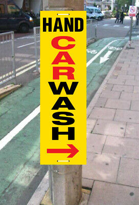 Hand Car Wash Signs Pavement Signs Directional Signs Printed With Your Message
