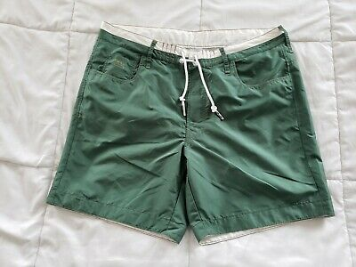 99e9d63b05 Men's G Star Raw Art Iconic 3301 Large Swim Shorts Trunks Board Green  Swimming