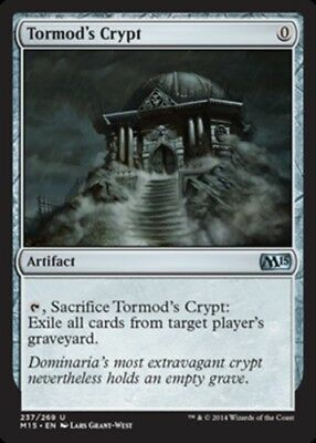 MTG  4X ** TORMOD/'S CRYPT **  X4 Chronicles