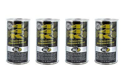 4 Pack BG 44K Fuel System Injector Valves Cleaner Power Enhancer Treat Fix 11 OZ
