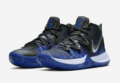2b72403d618e 2019 Nike Kyrie 5 Duke PE Game Royal Black CI0306-901 IRVING BASKETBALL  SHOES