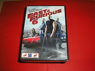 "DVD neuf emballé,""FAST AND FURIOUS 6"",vin diesel,paul walker,dwayne johnson,(404"
