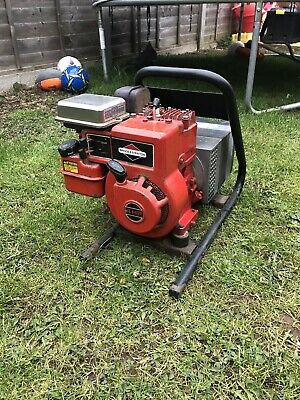 Petrol Generator Briggs And Stratton Engine Works Perfectly Power Tool Site Shed