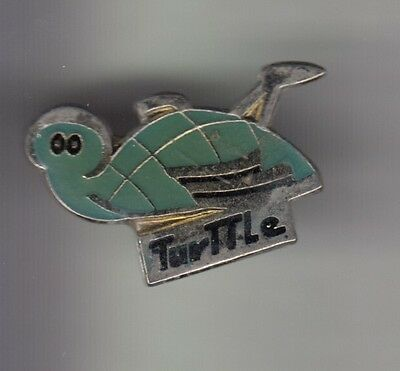 Rare Pins Pin's .. Animal Tortue Turtle Turttle Production Tv Radio Cinema 75~Cy