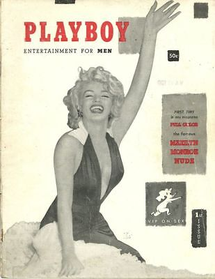 Complete Vintage Playboy Magazine from 1953 to 1959, 72 Issues PDF Files on DVD