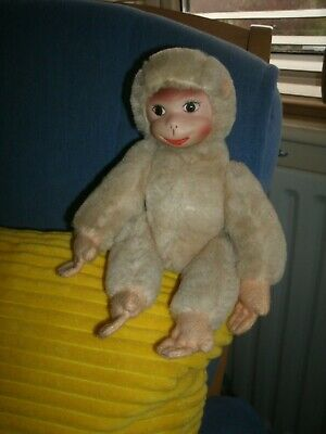 Vintage 1960's German Blonde Schuco Monkey