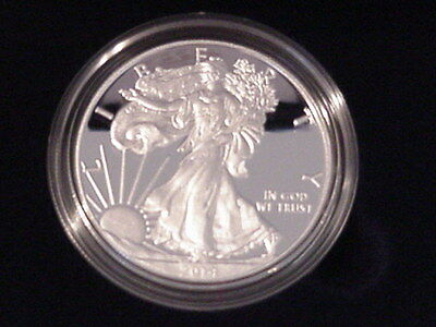 American Eagle 2014 Silver Proof 1 oz coin mint in box with COA