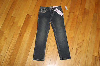ab4b5fd83 Lulu Luv Adjustable Waistband Girl s Jeans Size 5 Skinny 5 Pockets Nwt