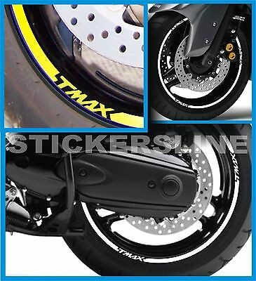 Stickers Wheels Motorcycle Stripes Yamaha Tmax 500 530 T Max