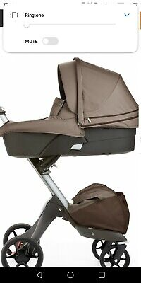 Stokke brown carrycot
