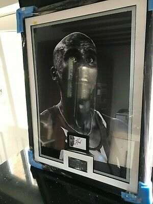 Signed Authenticated Autograph / Large Framed Photo Of Mo Farah With Coa