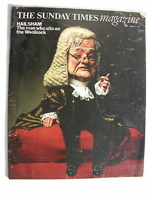 SUNDAY TIMES Mar 12 1972 Lord Hailsham Roger Law Algeria Civil War Richard Nixon