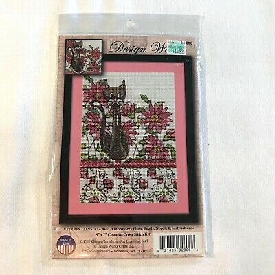 """Tobin DW2599 Frog Pile Counted Cross Stitch Kit-11/""""X16/"""" 14 Count"""