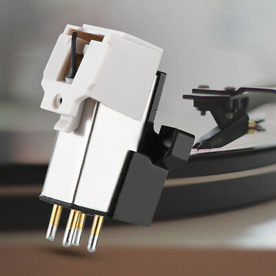 Magnetic Cartridge Stylus with LP Vinyl Needle for Turntable Record Player  LE