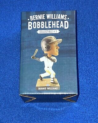 Bernie Williams SGA Bobblehead 4/12/19 Yankee Stadium New In Box 2019