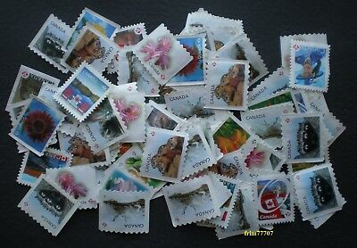 50 uncancelled 'P' stamps Off Paper - No Gum ➕ Free Shipping