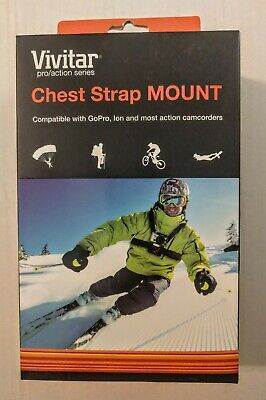 VIVITAR Chest Strap Mount- Pro/Action Series - BRAND NEW SEALED - GoPro Ion