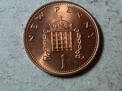 1971 Great Britain 1//2 New Penny UK Coin BU Very Nice KM# 914