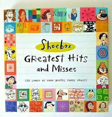 Book Shoebox Greatest Hits And Misses Gift Hallmark Funny Fun