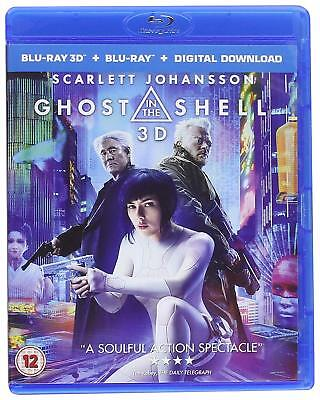 Ghost in the Shell 3D (Blu-ray 2D + 3D) (Region Free) (New Sealed)