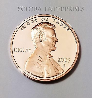 2005 S Lincoln Memorial *Proof* Cent / Penny  **Free Shipping**