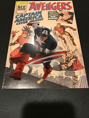 Avengers #4 Wizard ACE Edition Captain America Lives Again Stan Lee Marvel