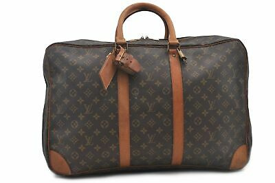 Auth Louis Vuitton Monogram Sirius 54 Travel Hand Bag 2compartments LV 74034