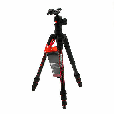 Manfrotto Befree Advanced Travel Al Tripod with Ball Head - Red (Open Box)