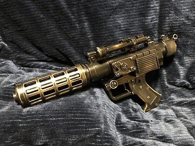 Star Wars Blaster Custom Awesome  Hand Painted Custom Cosplay