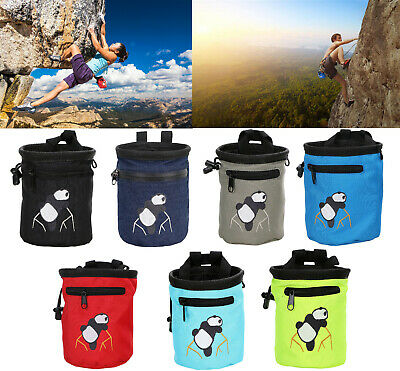 Outdoor Rock Climbing Chalk Bag Waterproof Magnesium Powder Pouch Utility