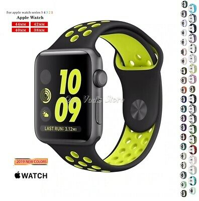 Correa Pulsera Silicona Deportiva Para Apple Watch Series 1/2/3/4 / 38-40-42-44