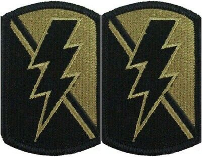2 Pack US Army 79th IBCT Infantry Bg OCP Scorpion Hook Back Military Patches